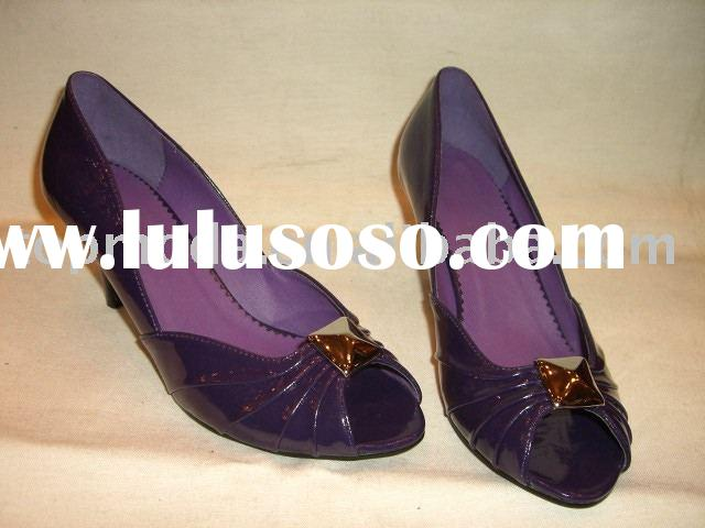 wholesale lady purple pumps shoes for 2011