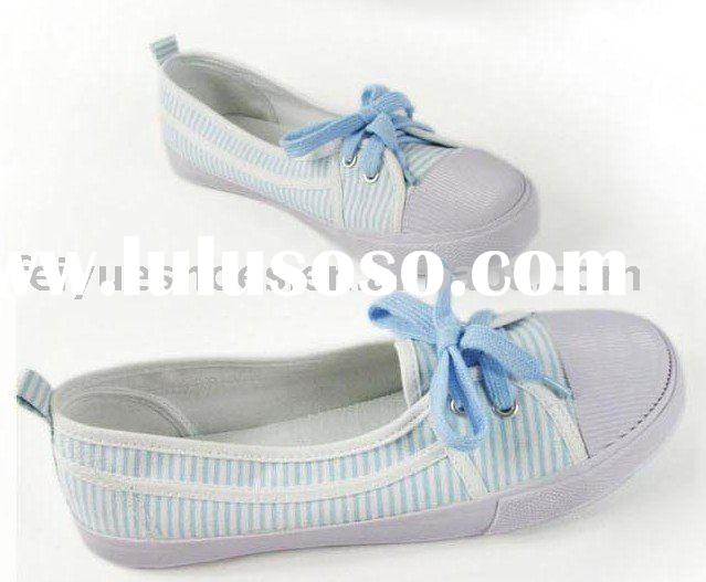 women fashion casual slip-on canvas shoes