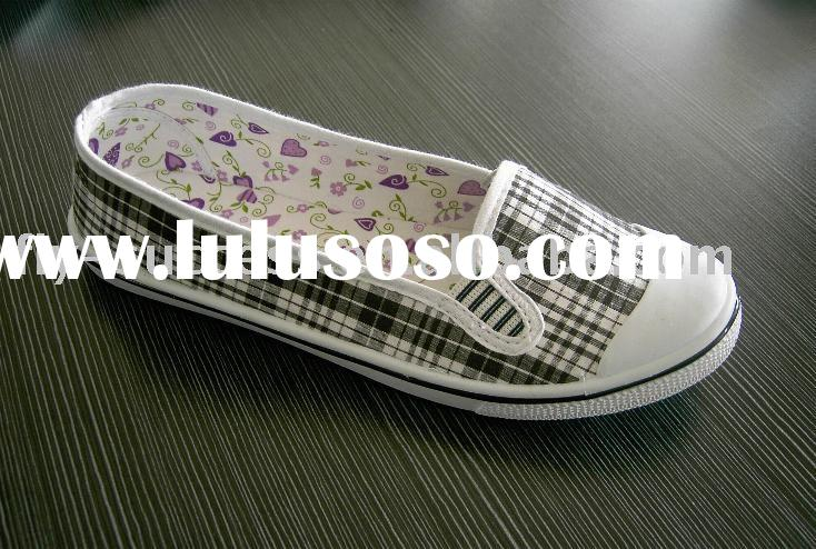women  injection canvas  shoes