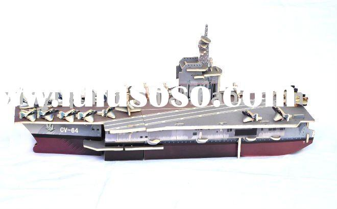 2011 bestselling DIY jigsaw puzzles-Aircraft carrier