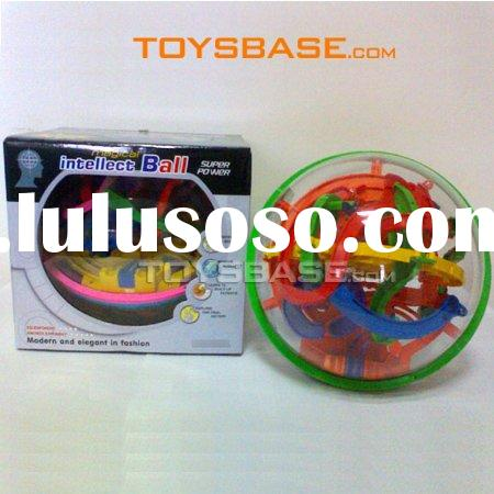 3D Maze Puzzle,Intellective Toy Magical Ball,Plastic ball (IZC110651)