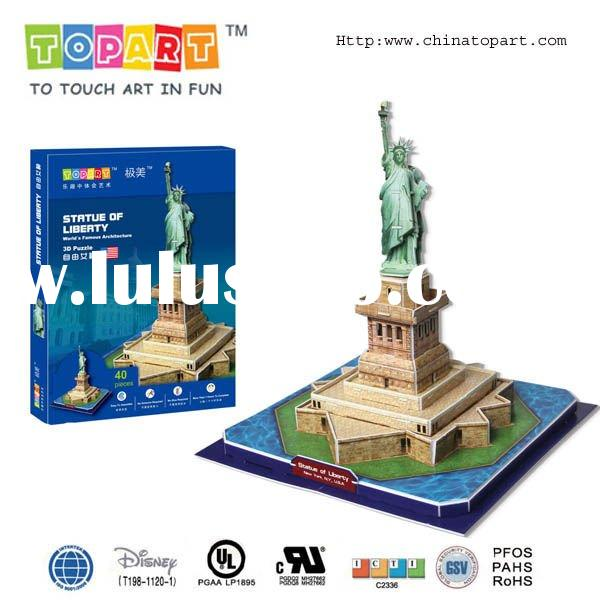 3D PUZZLE- STATUE OF LIBERTY