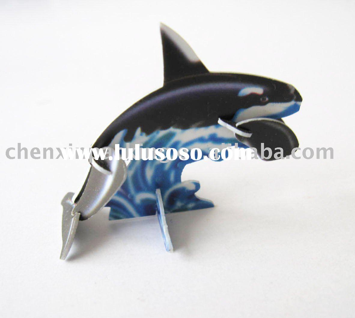 3D animal puzzle toys