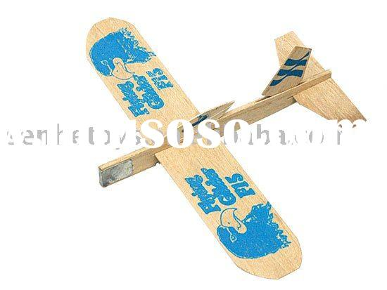 3D wooden puzzle- airplane