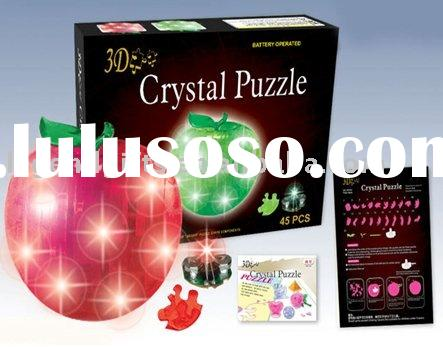 Apple Crystal Puzzle