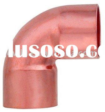 Copper pipe fitting, 90 Degree Short Elbow C X C, for refrigeration and air conditioning