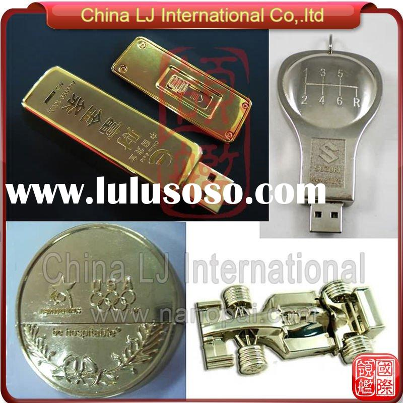 Customized Metal usb disk, custom metal Alloy USB flash memory