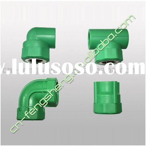 PPR Pipe Fittings/Good PP resin female screwed plastic copper connectors