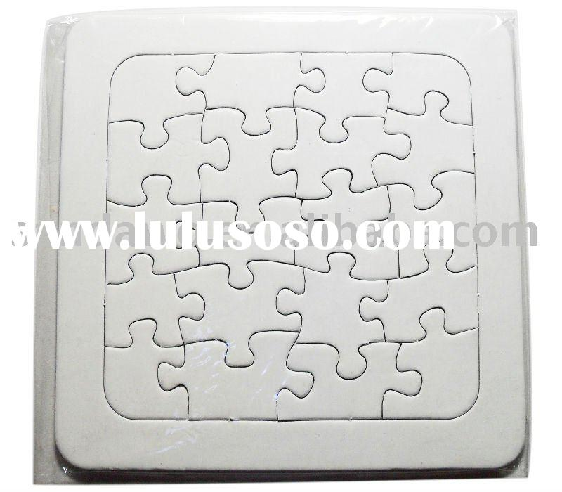 Paper board puzzle game