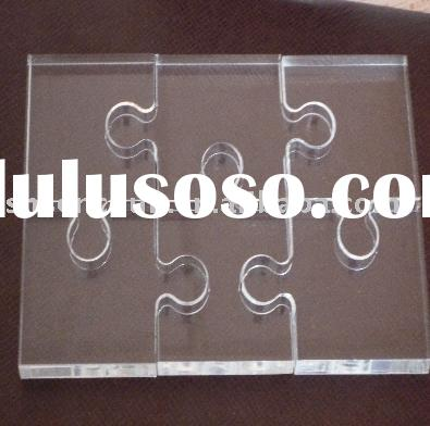 acrylic Jigsaw Puzzle with printing