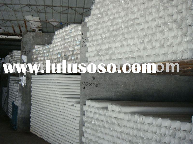 all size of pvc pipe