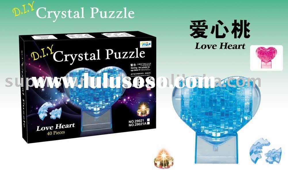 beautiful 3D crystal puzzle