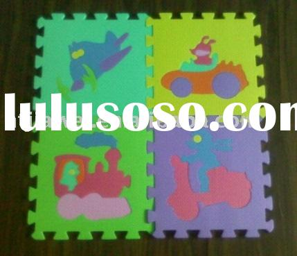 children toy , play toy  , EVA Alphabet Animal Play Mat, children play eva puzzle mat