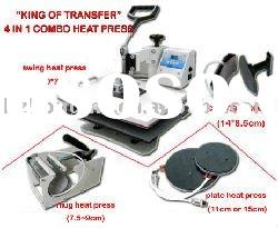heat press transfer machines