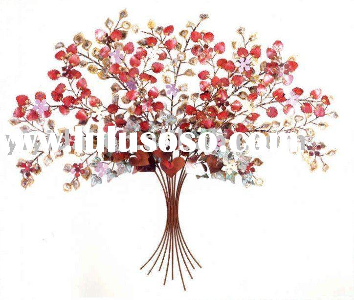 high quality metal wall art sculpture, metal walll craft
