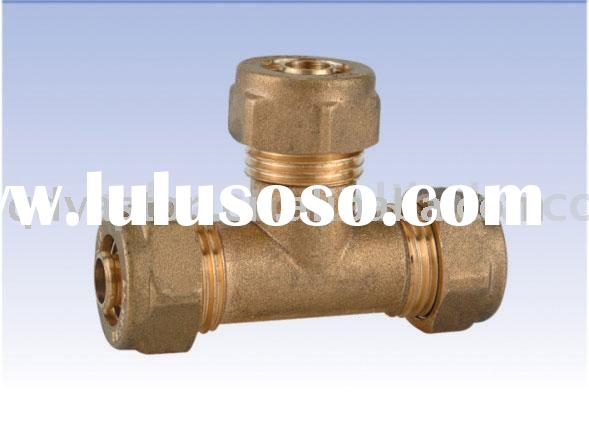 pex brass pipe fitting