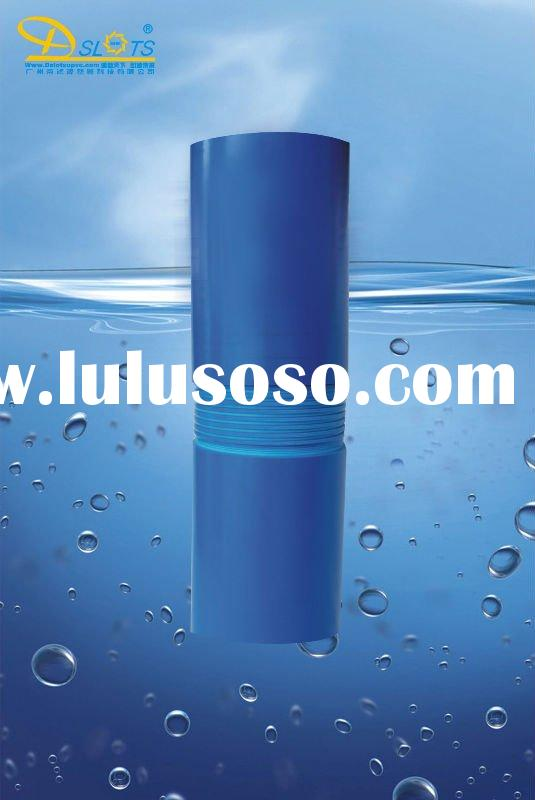 slotted pvc well casing