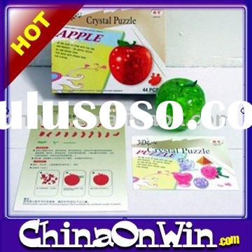 Apple Shape Crystal Puzzle