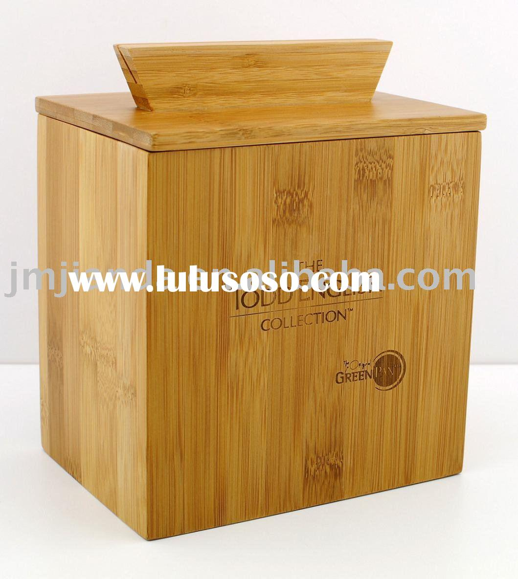 Bamboo Zest Recipe Box