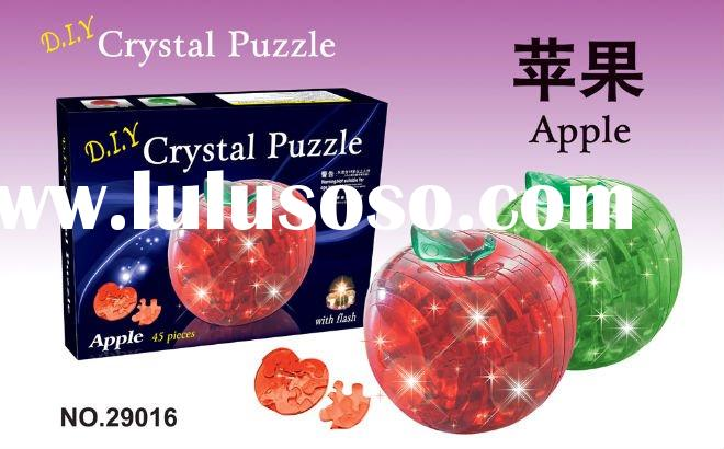 Crystal Puzzle Apple