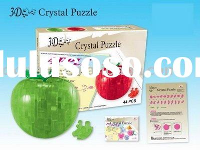 DIY crystal puzzle-apple