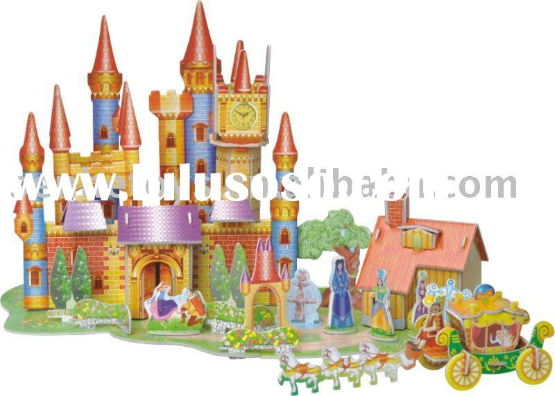 Educational Toys-3D puzzle-Crystal shoes