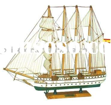 Hot sale good nautical craft gifts decoration boat