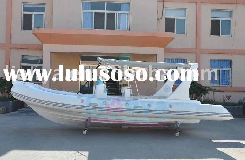 Rigid inflatable boat 6.6m/6.8m,new luxury model