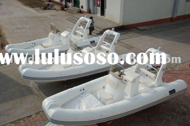 Rigid inflatable boat RIB520