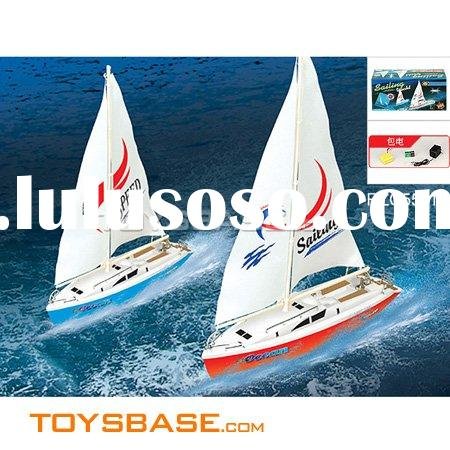 Self-assembling  Speed  Sailing Boat, Remote Control Boat--RZC55116