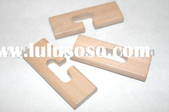 Wooden lock puzzle toy