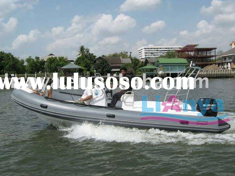 boat HYP660 luxury model,rib boat