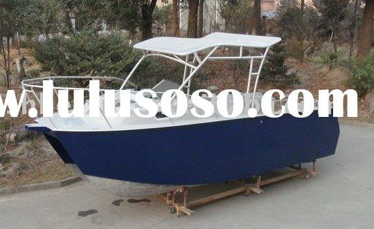 Ab 490cc aluminum boat with center console fishing boat for Sport fishing boat manufacturers