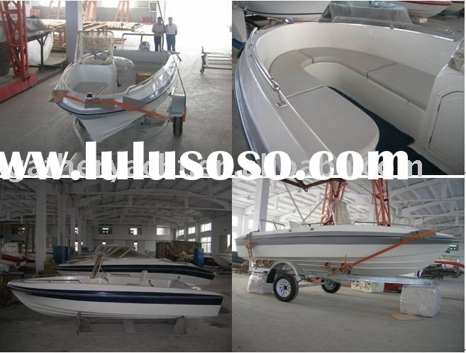 fiberglass speed new motor boat 480N
