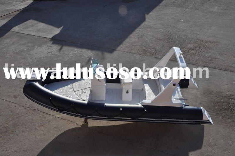 hypalon rib boat 4.8 m 5.2m,rigid inflatable boat