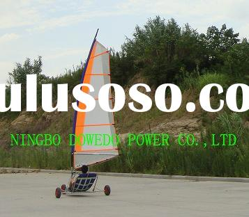 land yacht/ wind cart/ land sailing / wind power go cart