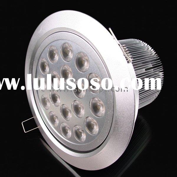 18W led recessed light