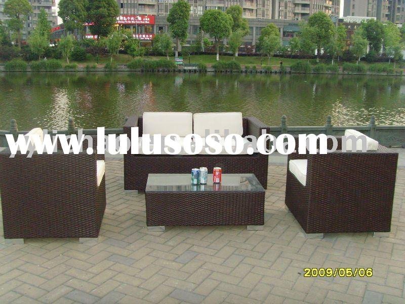 2010 hot sale aluminum frame  sofa set