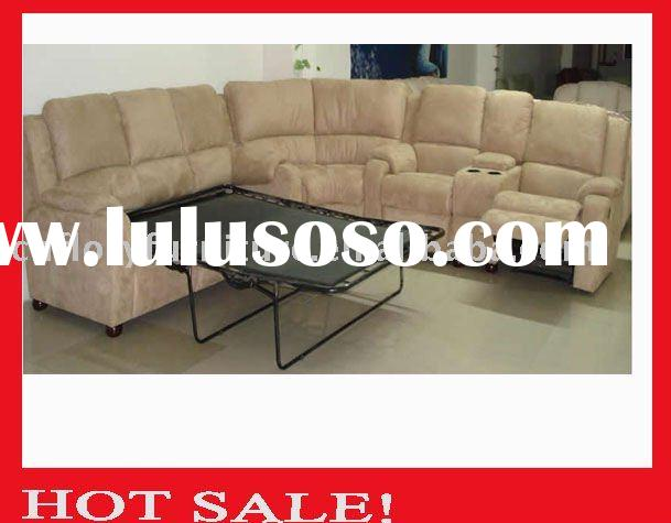 2011 Recliner sofa set italian leather reclining sofa set in real leather +PVC  #M01