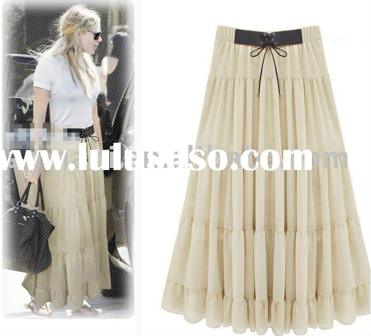 2011 newest  big pendulum Bohemian dress cultivate one's morality cake bust skirt