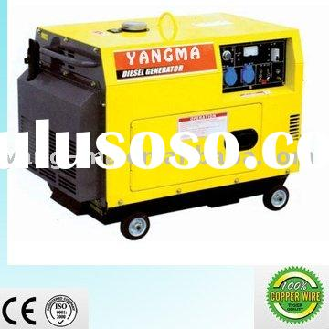 2KW-12KW yanmar/kipor type diesel engine power portable silent generator
