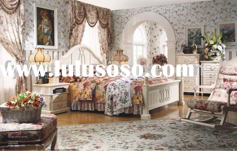 American style furniture white bedroom set