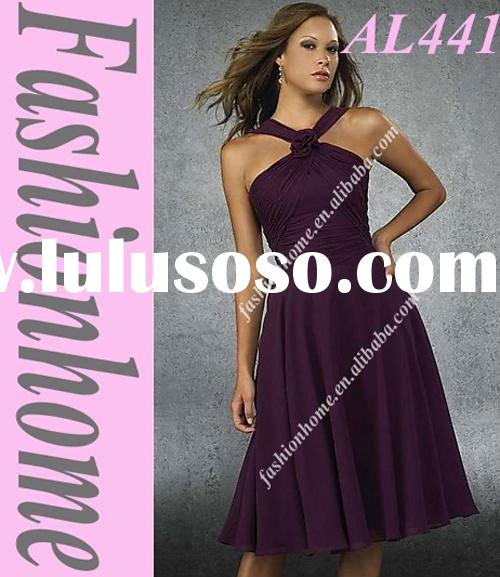 Bridesmaid dress Halter AL441