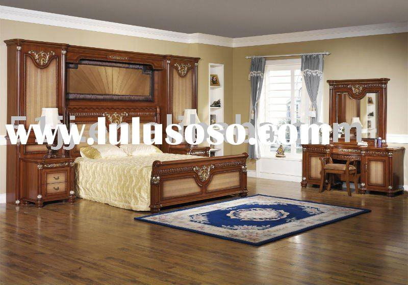 European Style Bedroom Furniture Set DZ-8807