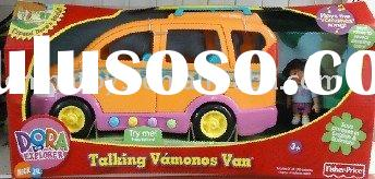 Fisher-Price DORA TALKING VAMONOS VAN/children  toys