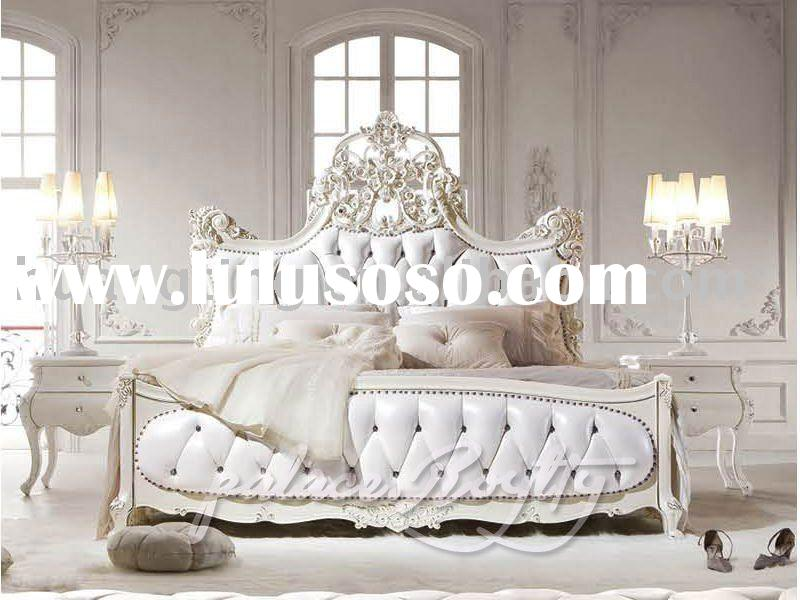 High end palace furniture royal bedroom set mater room furniture