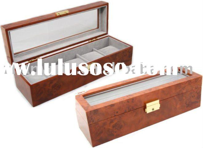 Large space Wooden watch case