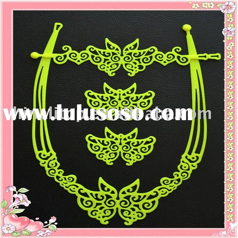 Latest Fashion Silicone Jewelry