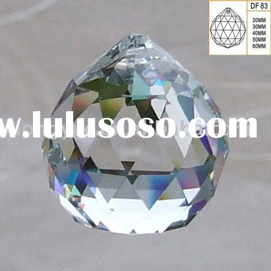 Machine Cut Crystal ball for Chandelier decoration