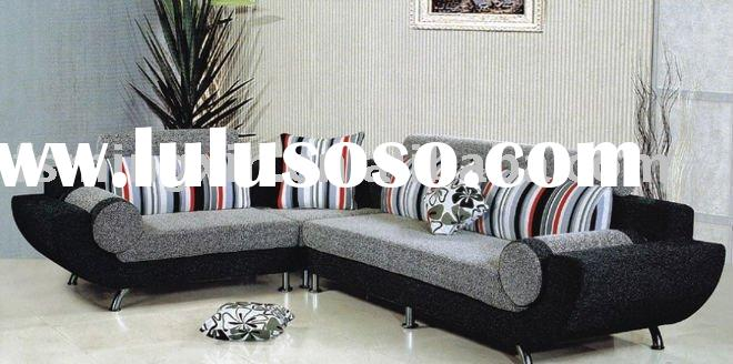 Modern Design Living Room Furniture Corner Fabric Sofa set F-354